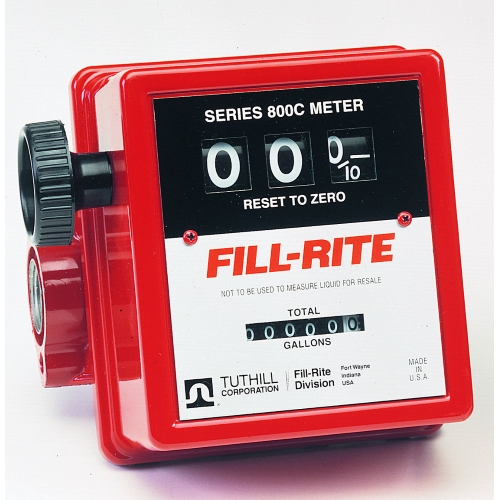 Fill-Rite 806C 3 Wheel Gravity Meter with Strainer  5 to 20 GPM - Fast Shipping - Meters