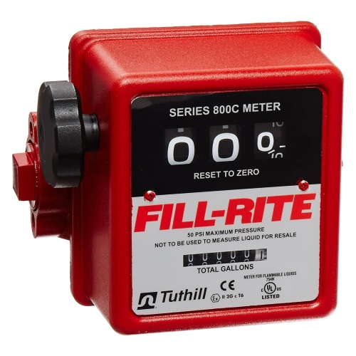 Fill-Rite 807C-1 Meter Mechanical Register to 99.9 Gallons - Fast Shipping - Meters