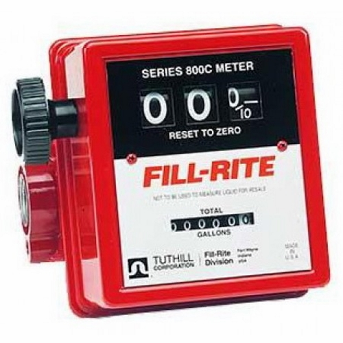 Fill-Rite 807C Meter Mechanical Register to 99.9 Gallons - Fast Shipping - Meters