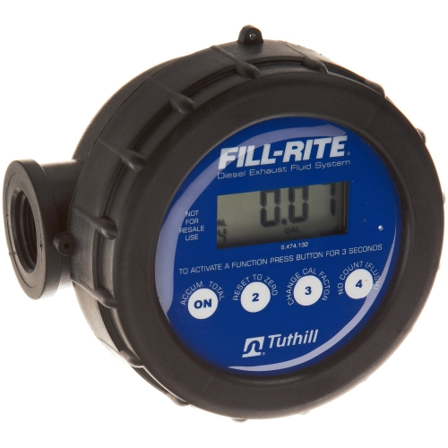 Fill-Rite 825D075BSPPS 825 Digital Meter with 3/4