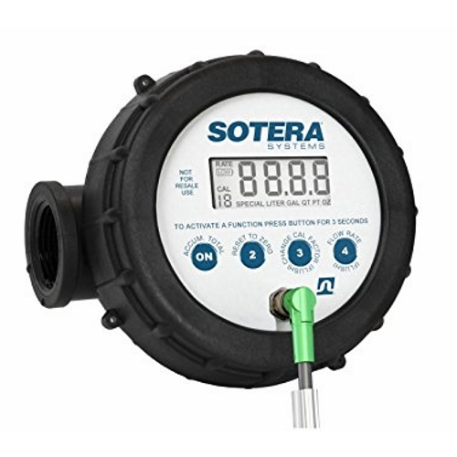 Sotera 825P Tuthill Nutating Disc Meter with Digital Display - Fast Shipping - Meters