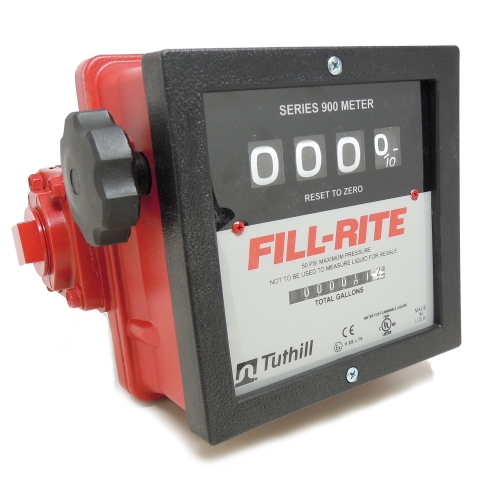 Fill-Rite 901C 4 Wheel Mechanical Meter - Fast Shipping - Meters