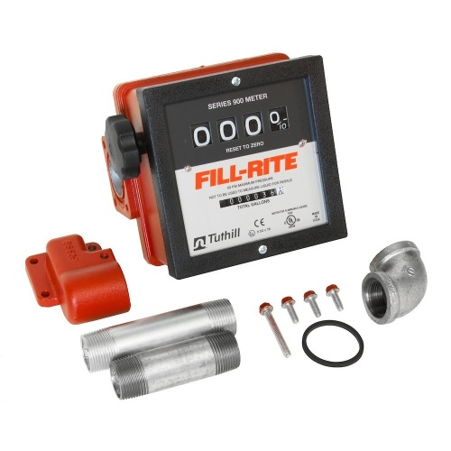 Fill-Rite 901CMK4200 Mechanical 4 Wheel Register: 1 inch Meter - Fast Shipping - Meters