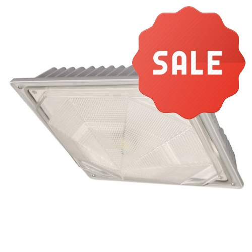 Cree Lighting LED Canopy Light C-CP-A-SQ-79L-50K-WH - Fast Shipping - Lighting Products