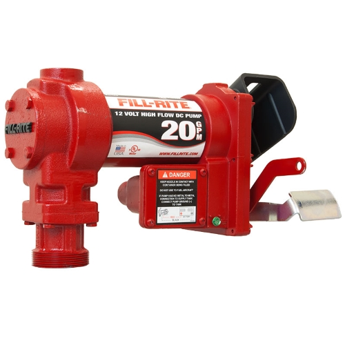 Fill-Rite FR4204G 12v DC Pump  20 GPM  pump only - Fast Shipping - Consumer Petroleum Pumps