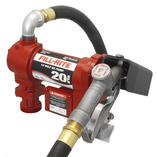 Fill-Rite FR4210GB 12V DC Hi-Flow Pump  Suction Pipe  1